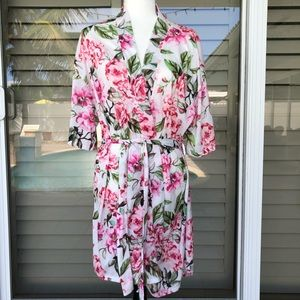 SHOW ME YOUR MuMu Floral Brie Robe one size, New